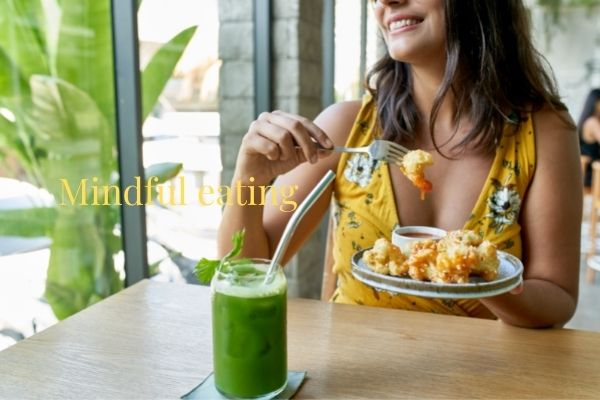 Mindful eating and chewing for healthy digestion