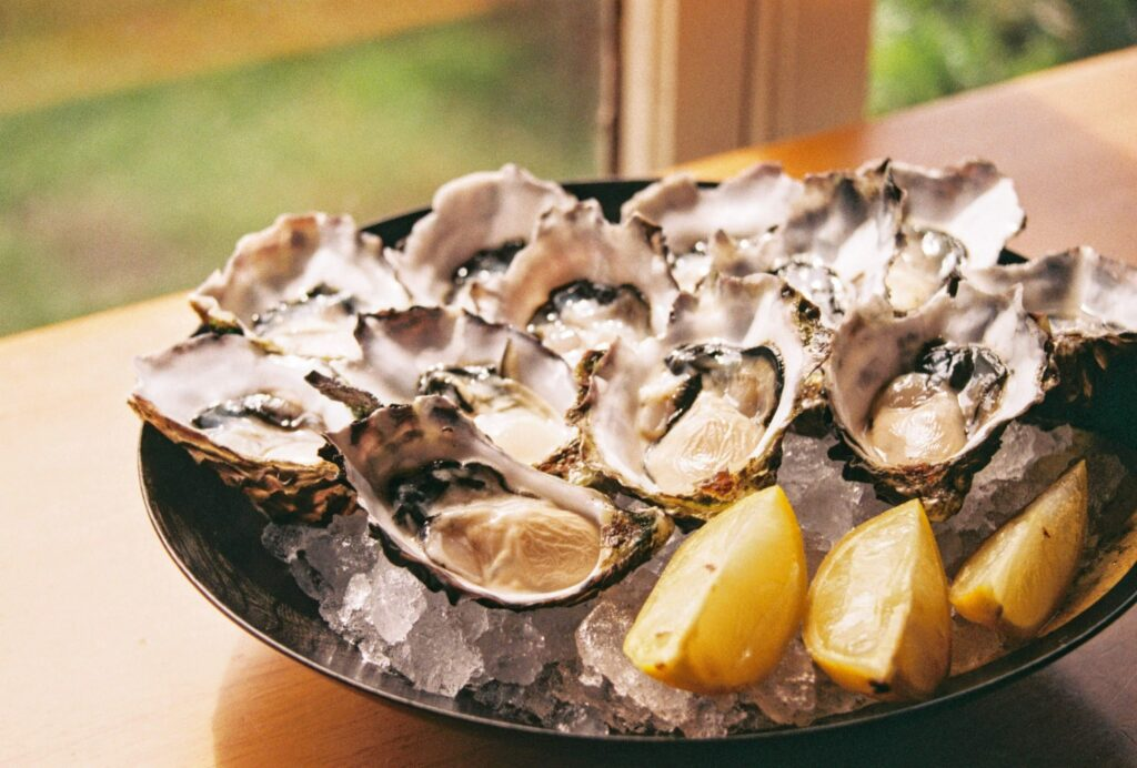oysters are the best source of the mineral zinc